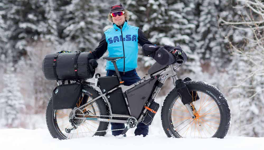 Jay Petervary was totally prepared for the elements when he won the 2018 Iditarod Trail Invitational using iSSi Flip pedals.