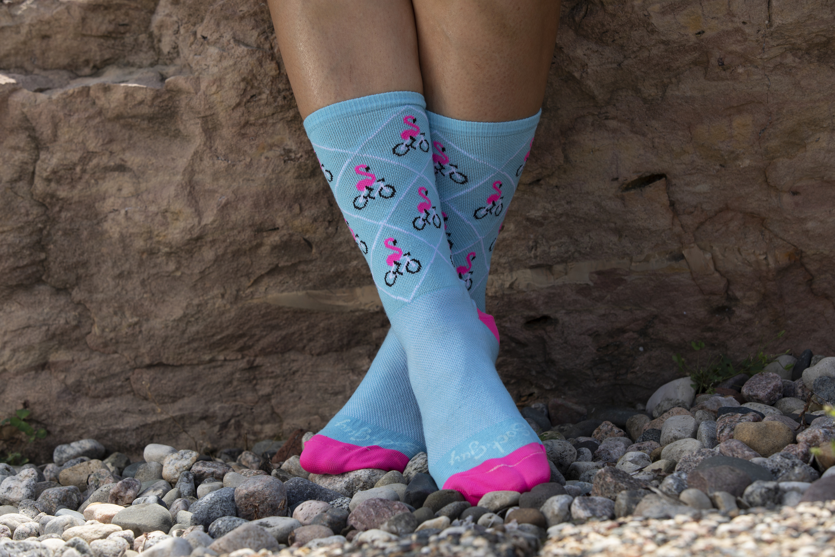 iSSi Flamingo Socks from the front