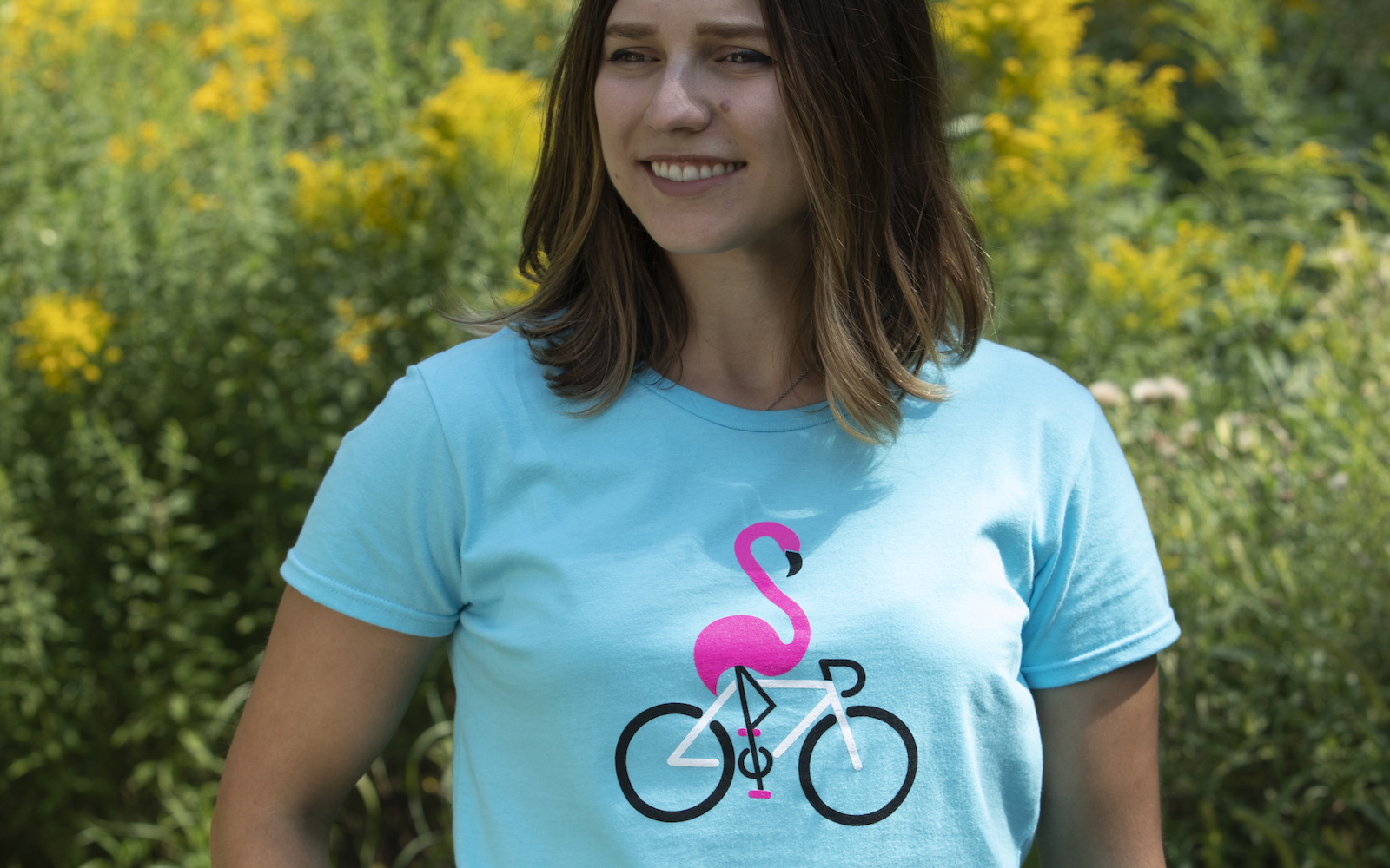 iSSi Flamingo T-Shirt, front