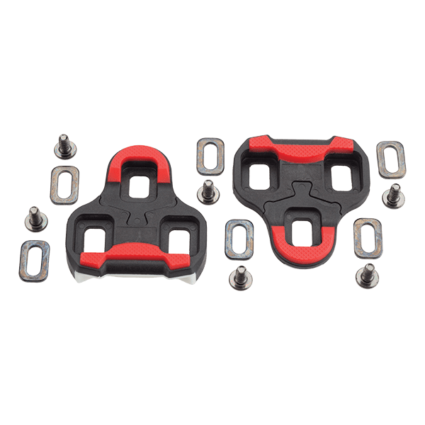 Three Bolt Road Cleats - Black