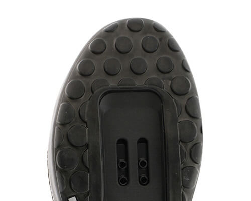 An example of a two-bolt compatible shoe